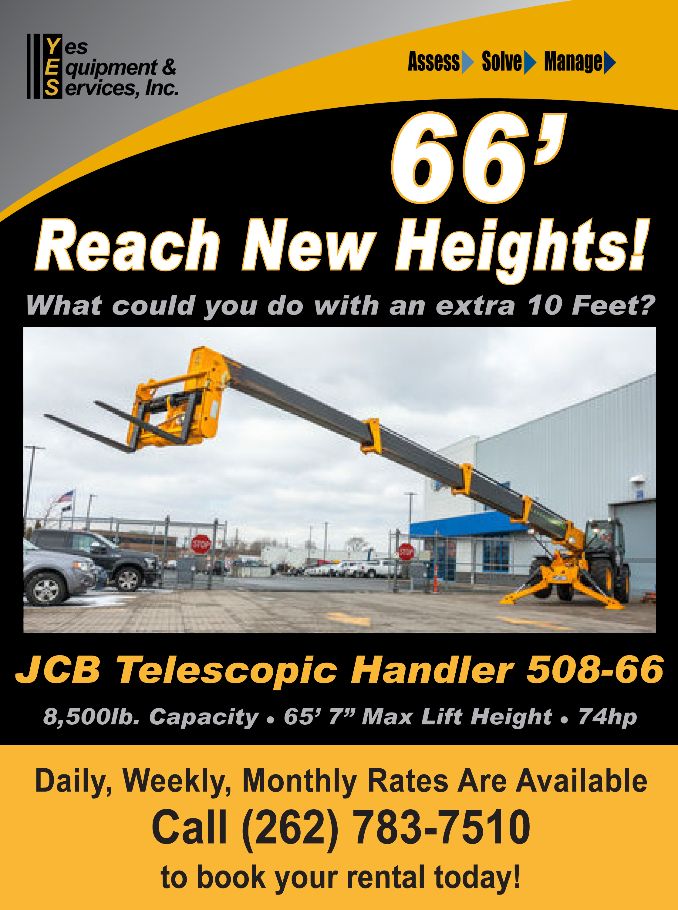 Rent JCB Construction / AG Equipment | Milwaukee & Madison, Wisconsin
