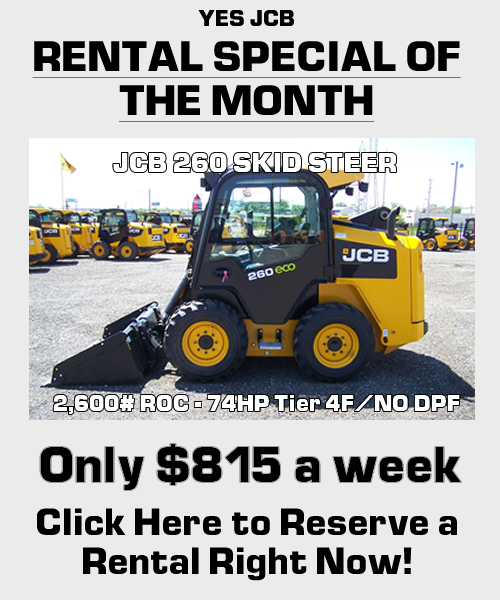 Rental special of the month