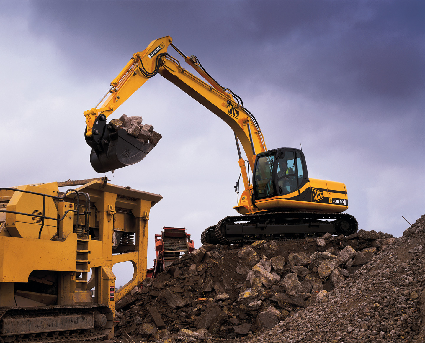 JCB Heavy Excavators
