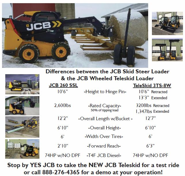 Yes Jcb Jcb Ag Amp Construction Equipment Milwaukee