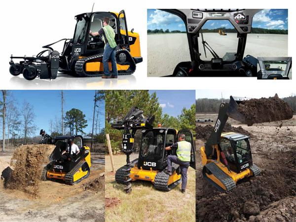 Rent JCB Compact Track Loaders From YES JCB Of Milwaukee & Madison