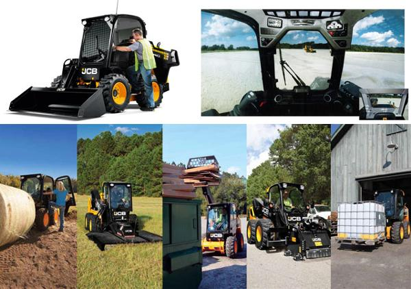 Rent JCB Skid Steers Ffrom YES JCB of Milwaukee & Madison